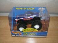 King Krunch Rev N' Go 2001 Toy