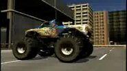 Monster Jam Urban Assault Video Game Monster Truck Stone Crusher