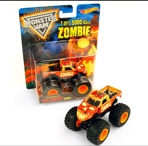 Zombie Halloween Edition Monster Trucks Wiki Fandom