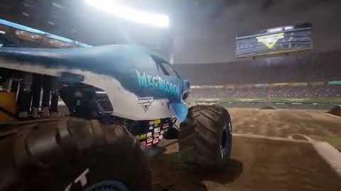 Monster Jam Steel Titans - Megalodon promo