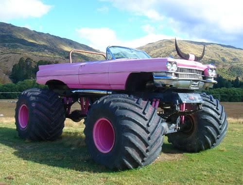 Pink Caddy Monster Trucks Wiki Fandom