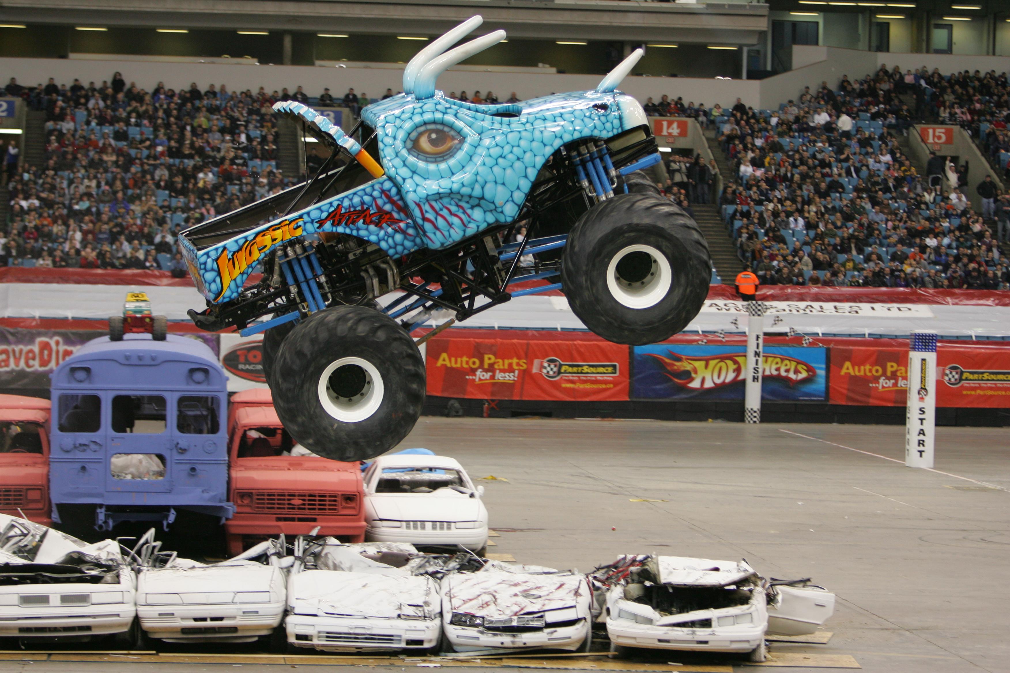 Jurassic Attack Monster Trucks Wiki Fandom