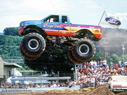 Bigfoot Monster Truck air