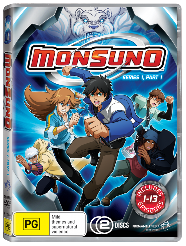 Abce2/Monsuno show configuration figured out/first DVD cover