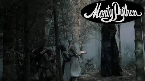 """The Knights Who Say """"Ni!"""" - Monty Python and the Holy Grail"""