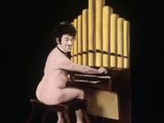 Nude organist 9