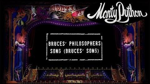 Monty Python - Bruce's Philosophers Song (Bruce's Song) Official Lyric Video