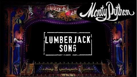 Monty Python - Lumberjack Song (Official Lyric Video)