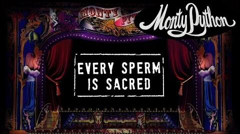 Monty Python - Every Sperm is Sacred (Official Lyric Video)