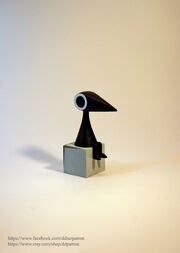 Crow man monument valley game figure by ddpatron-d7mxwir.jpg