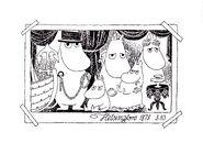 Moominland Midwinter, 1957