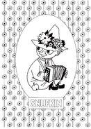 Meet The Moomin Snufkin
