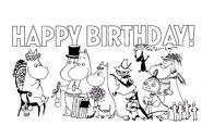 The Moomins Happy Birthday!