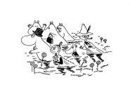 Moominsummer Madness., 1954