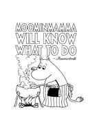 Moominmamma Will Know What To Do Moomintroll
