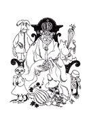 Memoirs Of Moominpappa, 1950