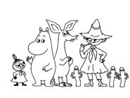 Moomintroll And Friends