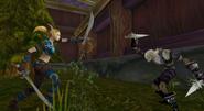 Elves vs undead