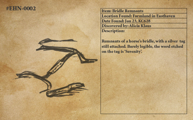 Bridle Remnants