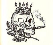 Tverskaya Brotherhood Skull Tattoo