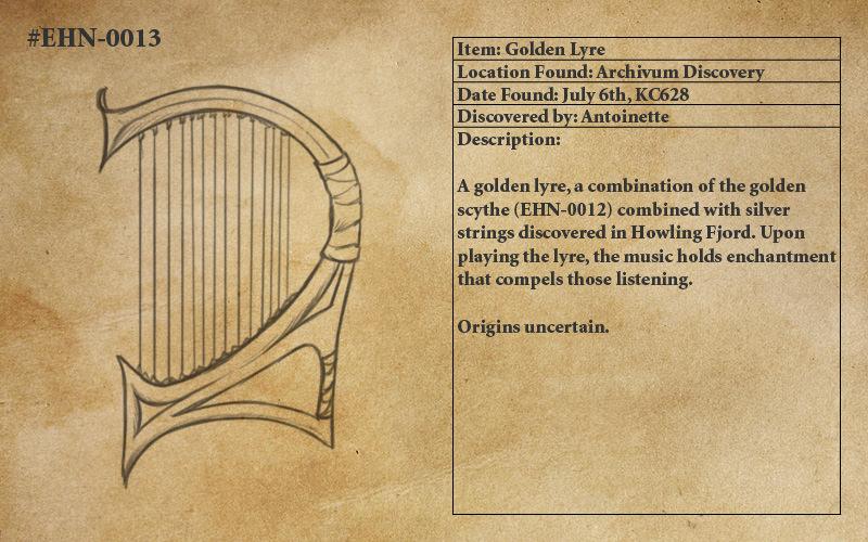 Golden Lyre