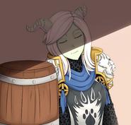 Casylia after battle