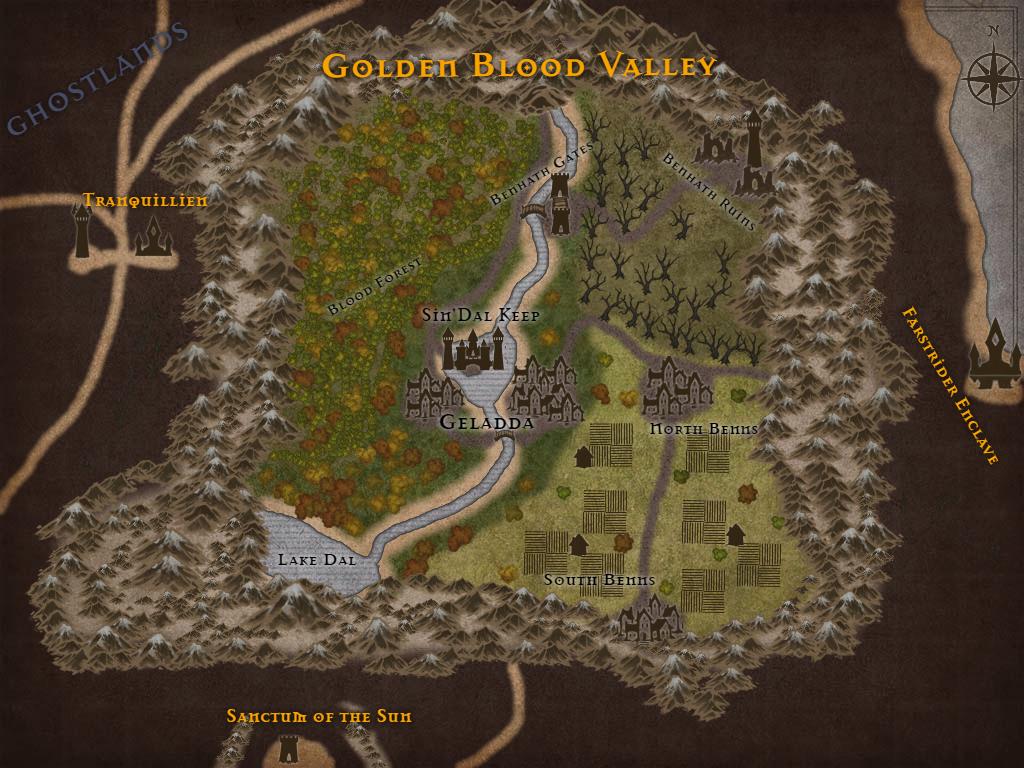 Golden Blood Valley