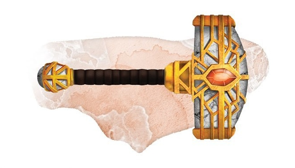 Guilded Hammer of Earthen Might
