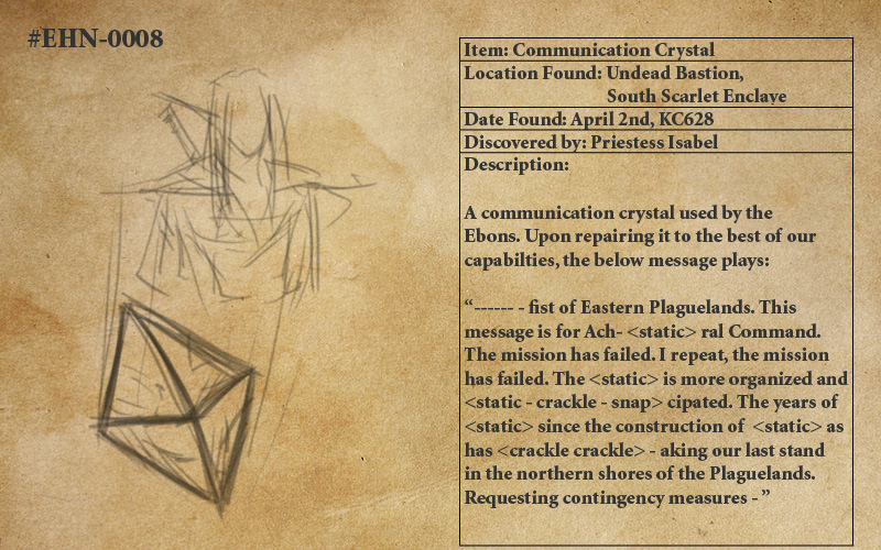 Communication Crystal