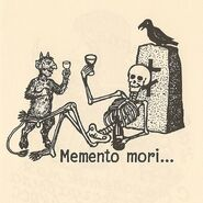 Memento Mori Drawing