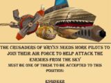 Crusaders of Wrynn Recruiting Poster: Air Force