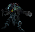 Zevrad - 3D Model (No Glow with Background)