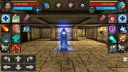 Tomb cruel wolf statue 01