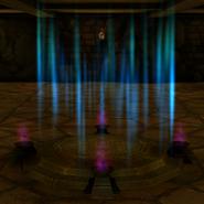 Portal gloomy caverns
