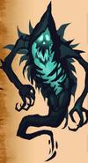 NPC art creepy messenger