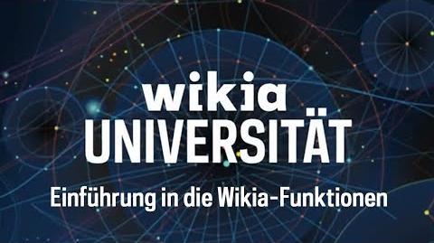 Einführung in die Wikia-Funktionen