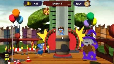 Moorhuhn Jahrmarkt-Party - Gameplay (Wii)