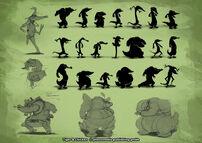 Moorhuhn T&C Ninja Krokodil 1