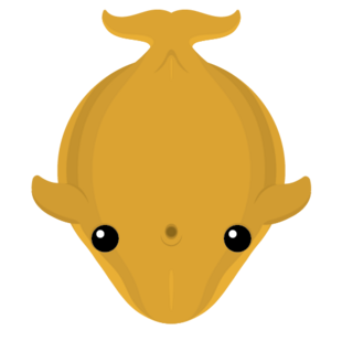 Old Golden Blue Whale