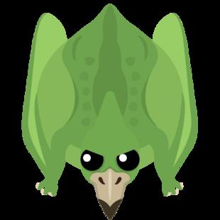 Emerald Pterodactyl