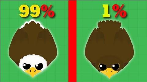 ULTRA RARE GOLDEN EAGLE Mope.io Update Mope