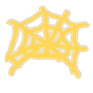 Golden Web-stuck