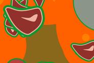 Meat in lava