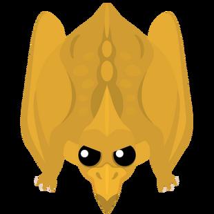 Golden Pterodactyl