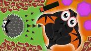Mope.io HEDGEHOG KILLS BLACK DRAGON!! BLACK DRAGON DIES TO PORCUPINE!! Mope