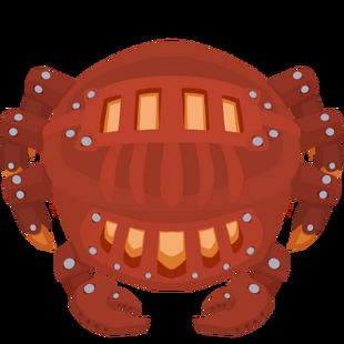 Metallic Crab