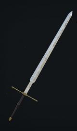 Commander Zweihander skin used
