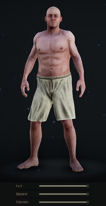 Male Body with all Sliders at Maximum