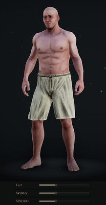 Male Body with Default Sliders