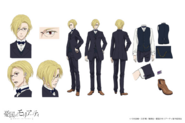 Louis James Moriarty Anime Character Design